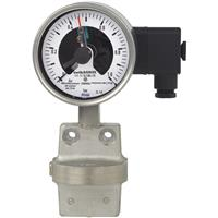 Model DPGS43.100, DPGS43.160 Differential Pressure Gauge with Switch Contact