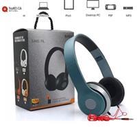 Ear Teens Kids Child Fold-able DJ Headphones 3.5 mm Wired or Bluetooth Earphones