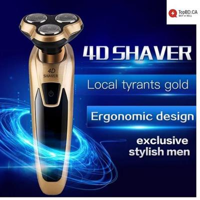 Men's Best Gift 4D Floating Rotary Electronic Shaver Newest 3188S Razor
