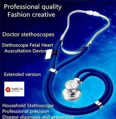 Multi-function Double Tube Professional Medical Stethoscope To Hear Cardiac Sound