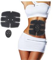 Smart Electric Pulse Muscle Simulator ABS ems Trainer fitness burn fat Weight loss Body slimming