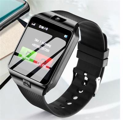 Smart Watch DZ09 with HD Camera SIM &Memory Card Slot for iPhone & Android Smartphones